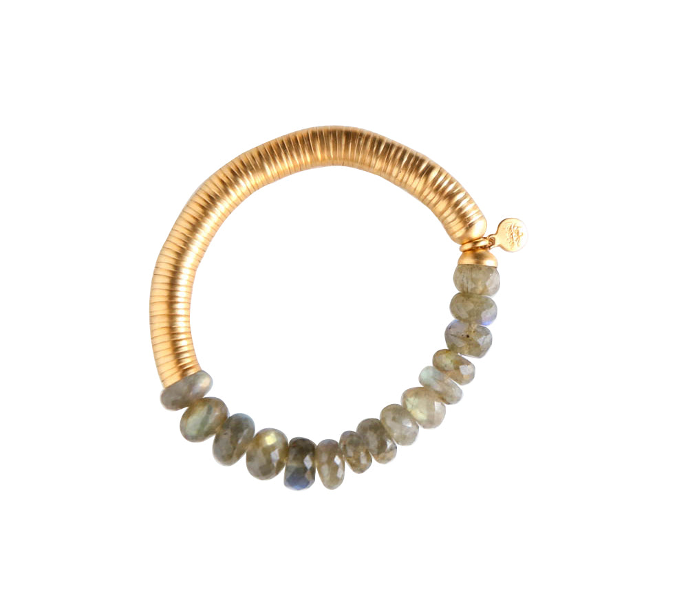 Evra Bracelet with Stones in Gold