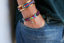 Load image into Gallery viewer, Friendship Bangles in Dark Multi