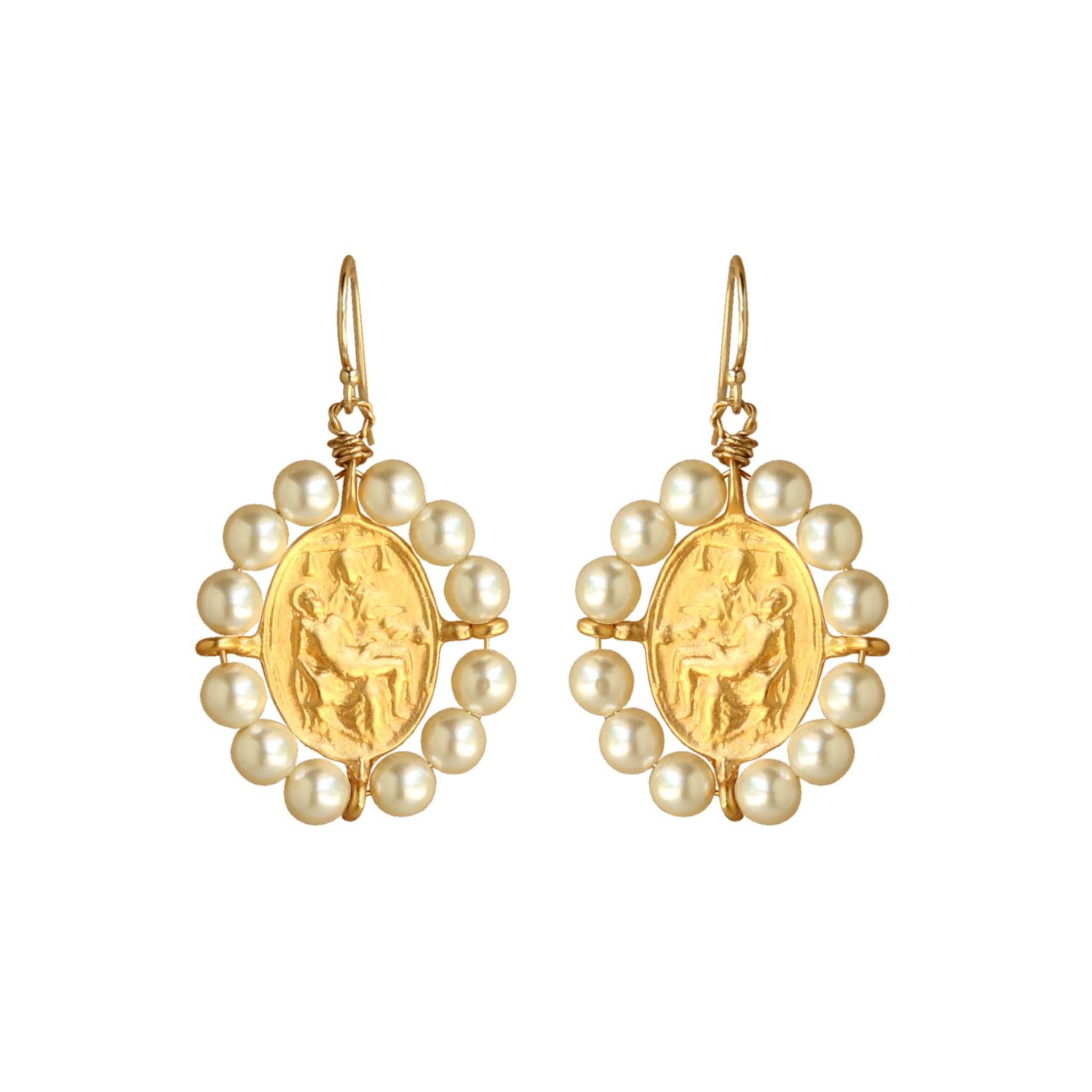 Pieta Earrings