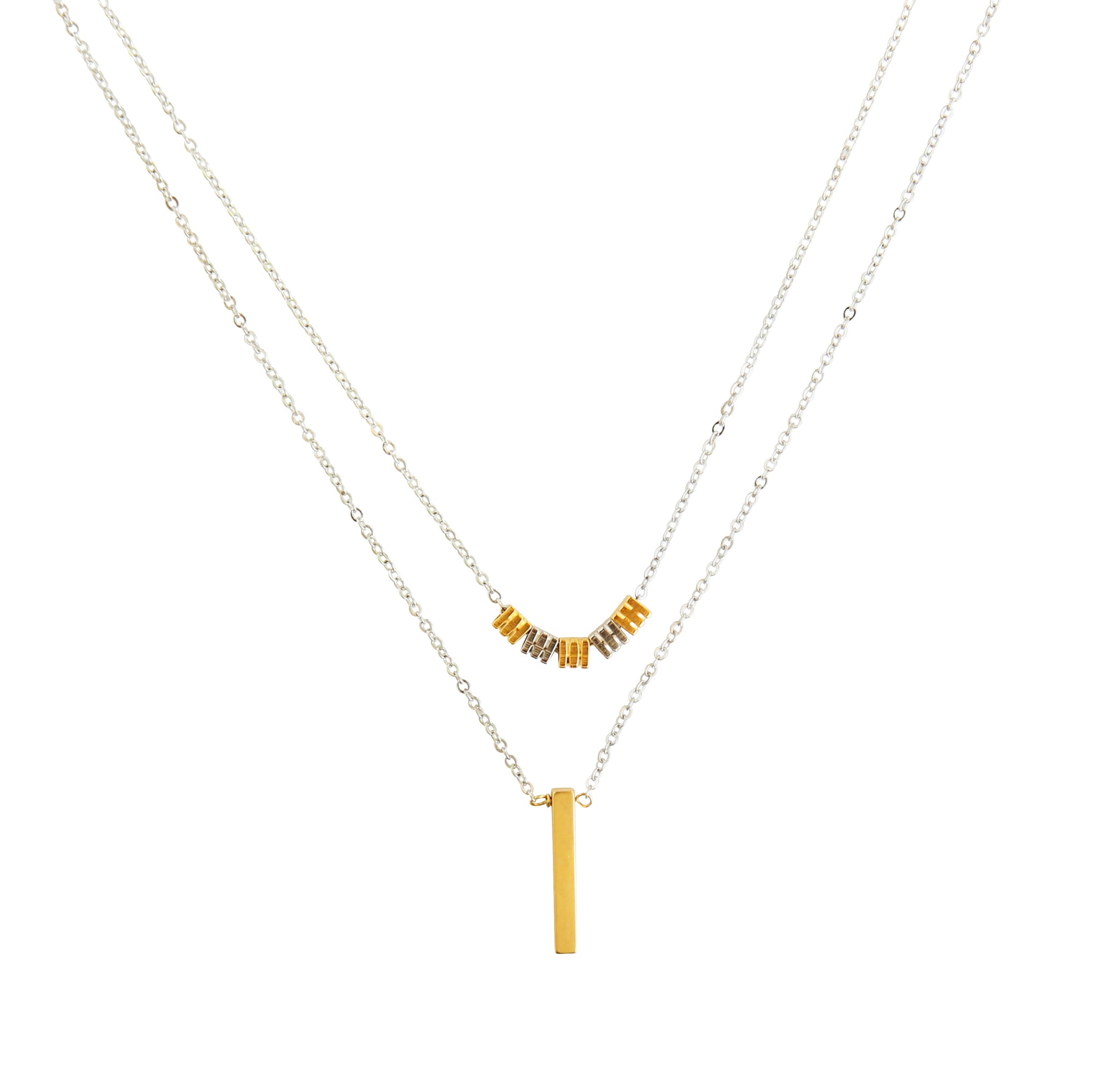 Twice Short Necklace