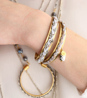 Thin Braided Cuffs