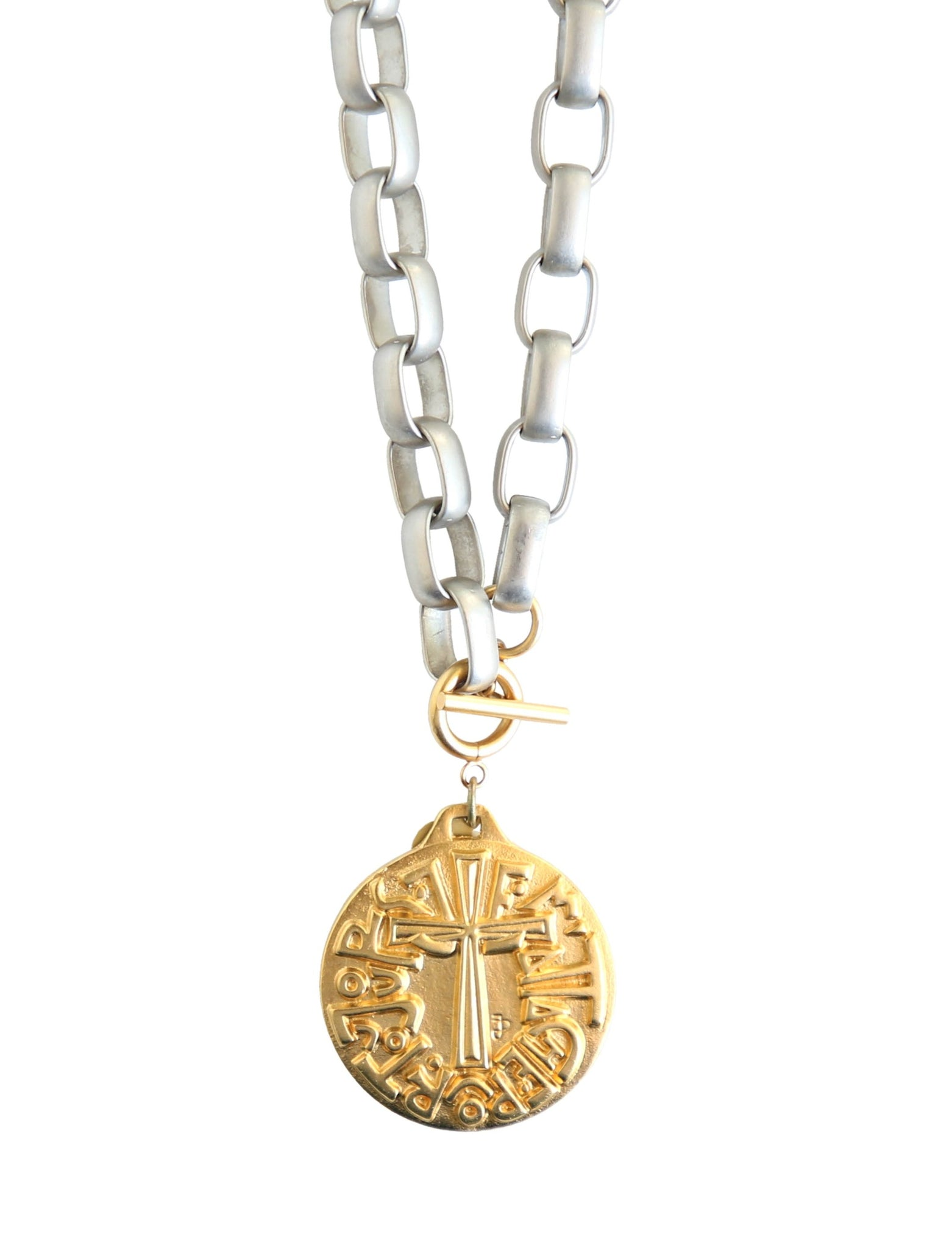 Vow Medallion Necklace