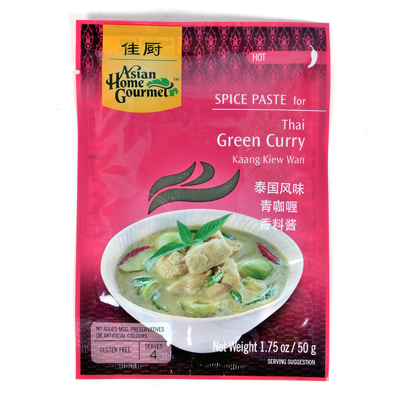 ASIAN HOME GOURMET佳厨 泰式青咖喱酱 4人份 50g