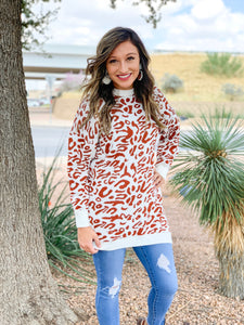 Texas Leopard Sweater