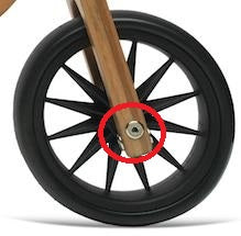 Tiny Tot - Wheel Bolt