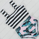 Exotic Floral Swimsuit