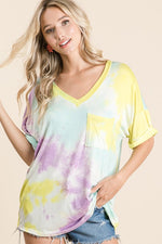 Load image into Gallery viewer, Oversize Tie Dye  T shirt - M C and J