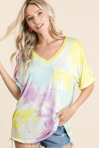 Oversize Tie Dye  T shirt - M C and J