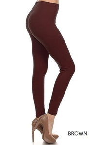 Leggings  -- Solid Brown