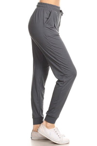 Knit Joggers - charcoal - fall