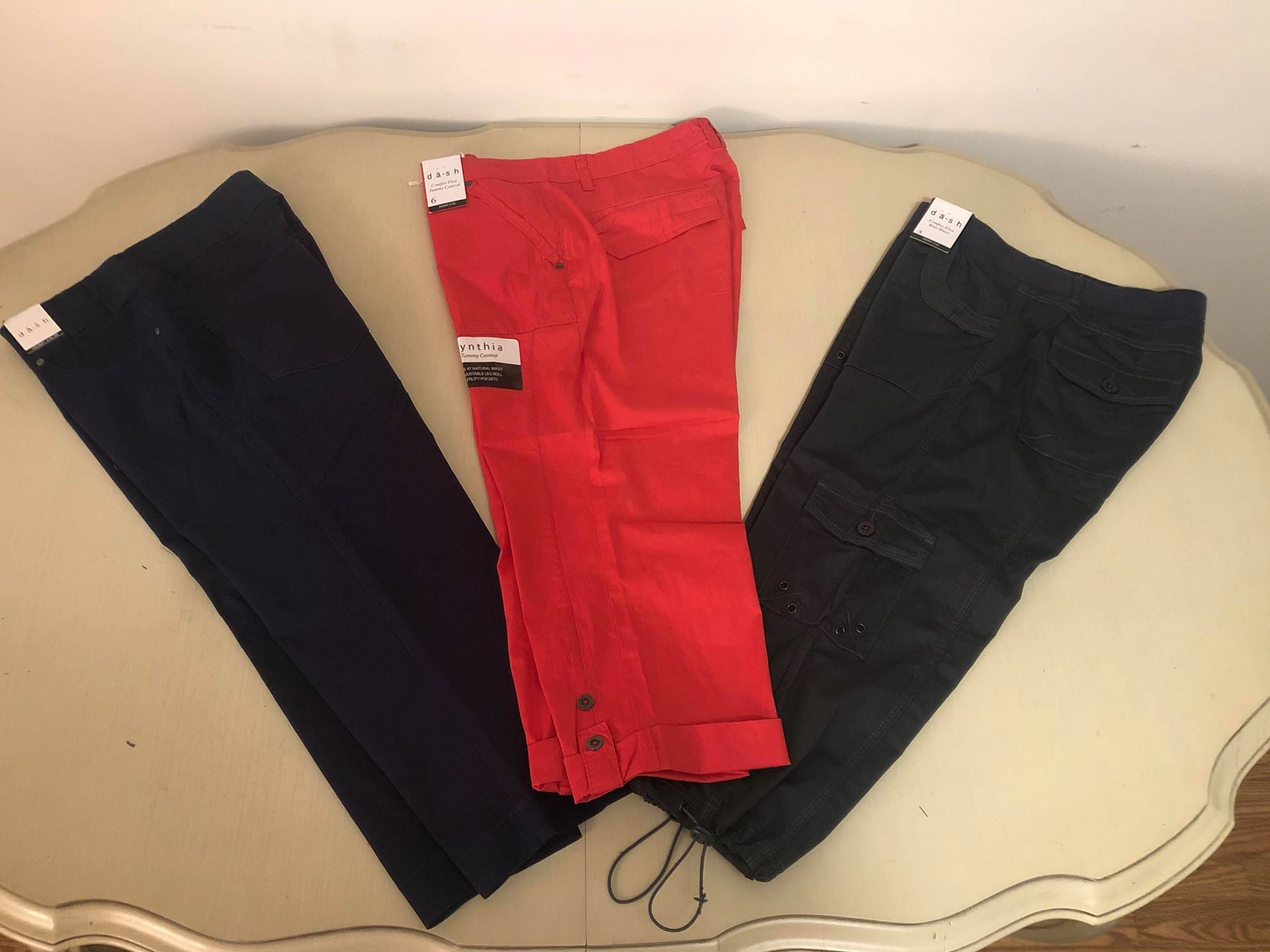 Navy capris - Dash - M C and J