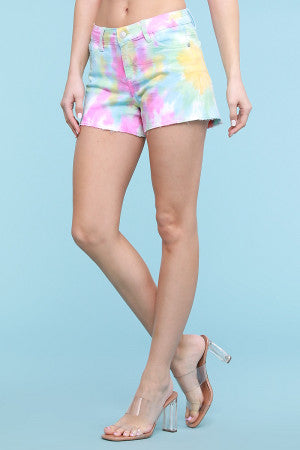 Judy Blue Shorts - Tie Dye - M C and J