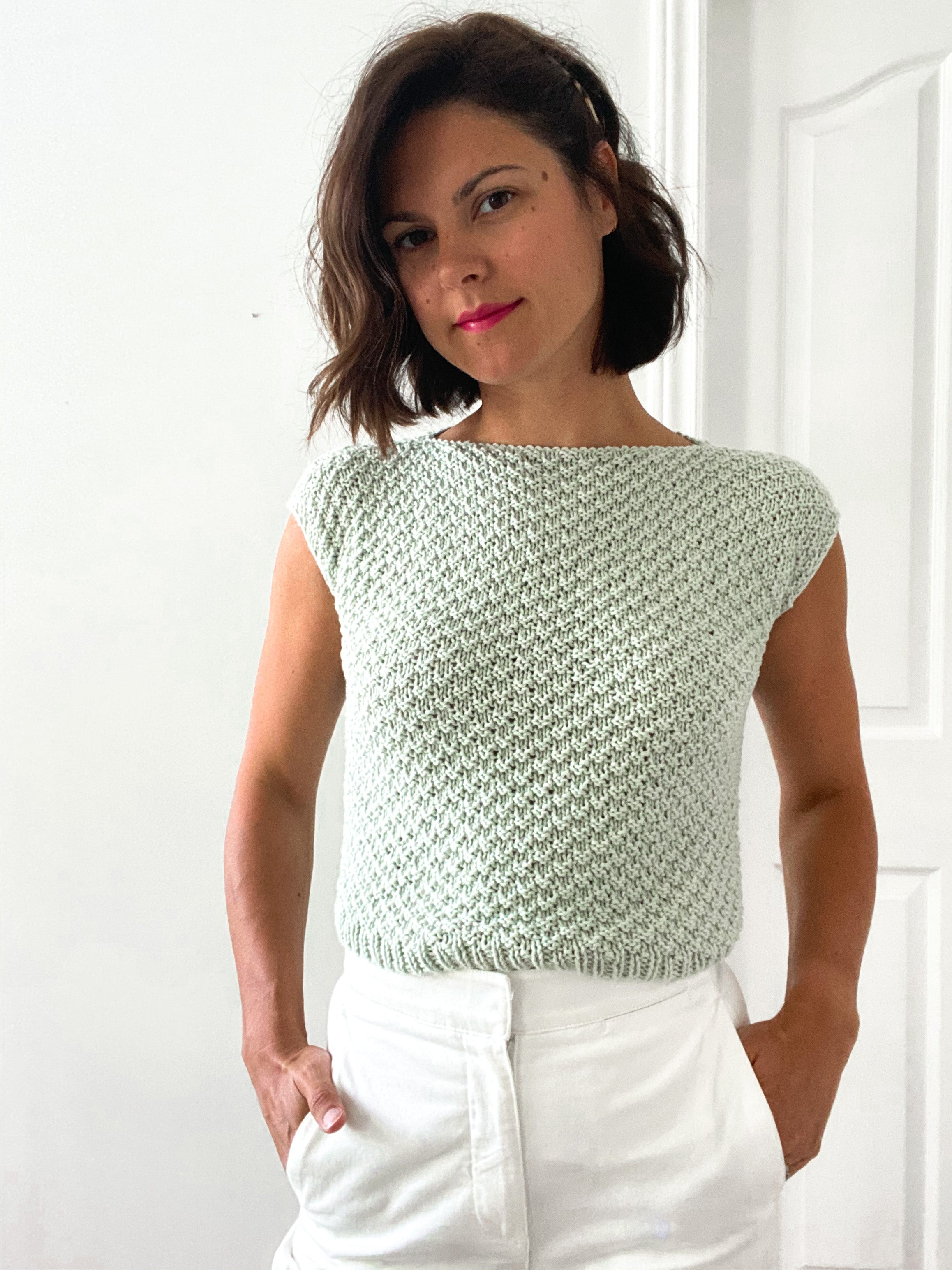 The Louellen Tee Pattern