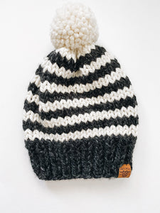 Oxford Toque - Charcoal