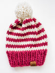 Oxford Toque - Raspberry