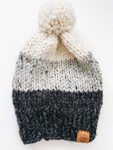 Archer Toque - Black/Grey/Cream