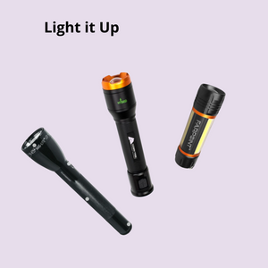 Multi-colored Flashlights by Maglite