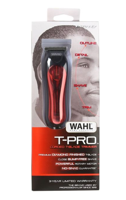 Wahl T-Pro Corded T-Blade Trimmer (110 VOLTAGE)