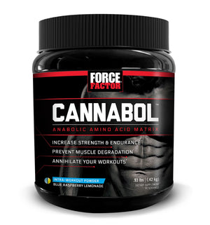 Force Factor Cannabol, Intra-Workout 6:1:1 BCAA