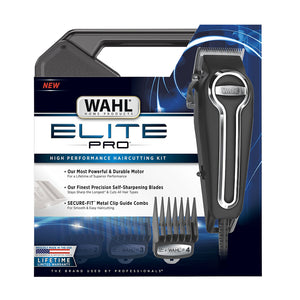 Wahl Elite Pro High Performance Hair cutting Kit (110 VOLTAGE)