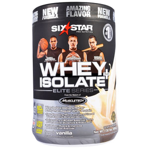 Muscletech Six Star Elite Series Whey Protein