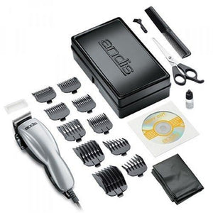 Andis 19 Piece at Home Hair cutting Kit (120 VOLTAGE)