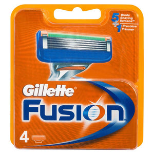Gillette Fusion Blades (4 Cartridges)