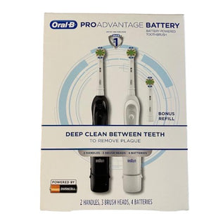 Oral-B Pro battery powered toothbrush