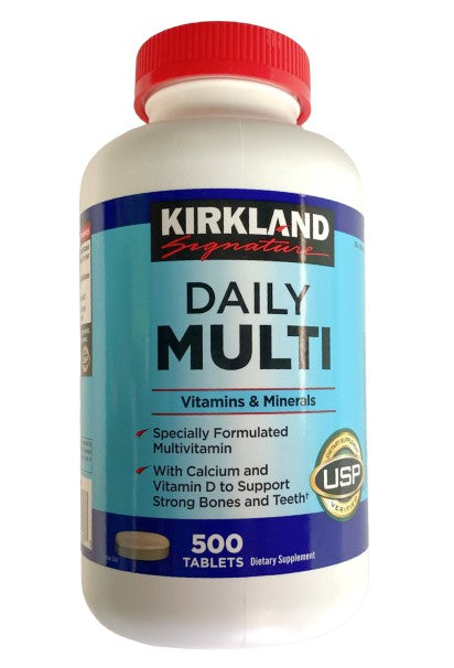 Daily Multi Vitamins & Minerals