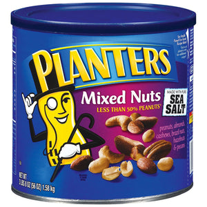 Planters Mixed Nuts with Sea Salt