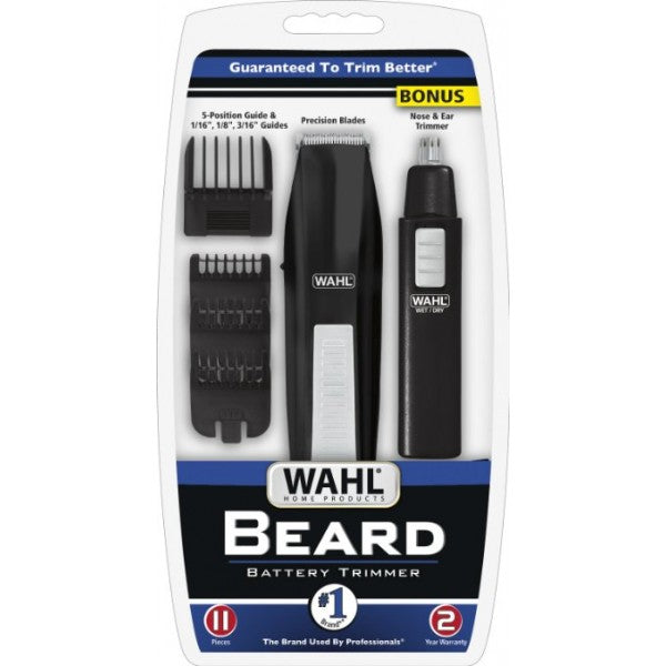 Wahl Beard Trimmer with Bonus Nose & Ear Trimmer