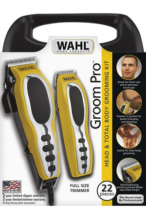 Wahl Groom Pro Total Body Grooming Kit (110 VOLTAGE)