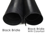 Black bridle colorfast vs noncolorfast
