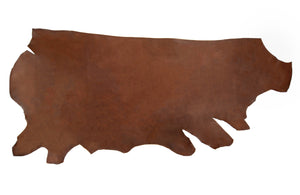 Side of ChahinLeather Chocolate Holster Strap