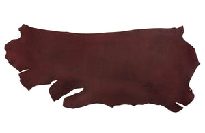 Side of ChahinLeather Burgundy Latigo
