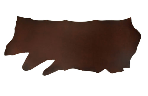 Pecan pull up specialty leather full side