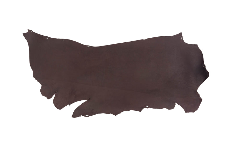 Side of ChahinLeather Economy Brown Latigo