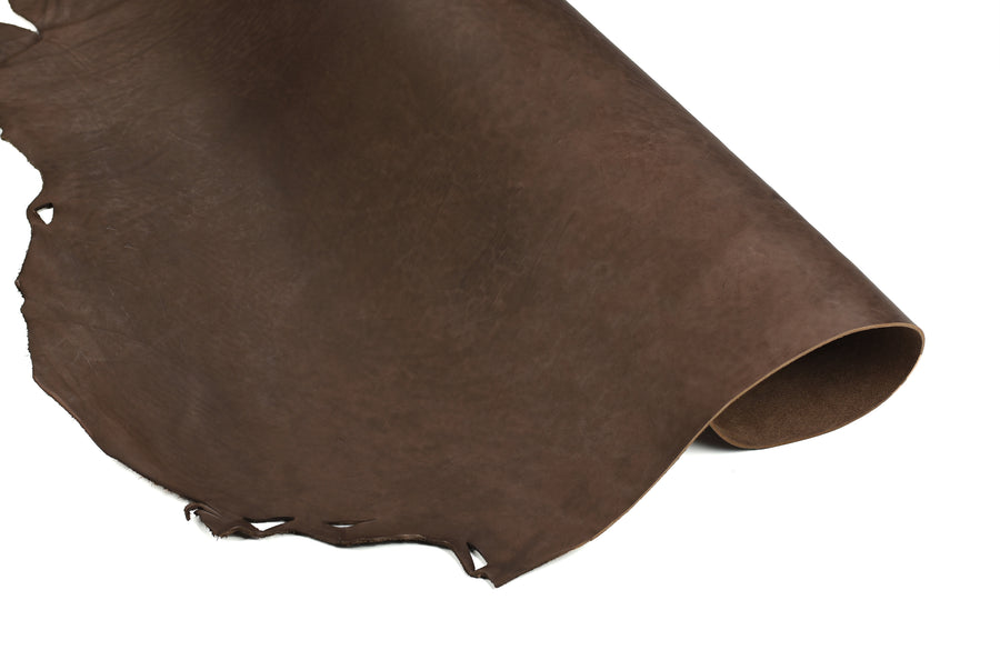 Half rolled Economy brown tooling strap