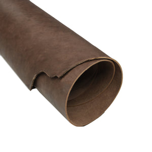 Economy brown tooling strap rolled