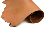 Rolled side of ChahinLeather Golden Holster Strap