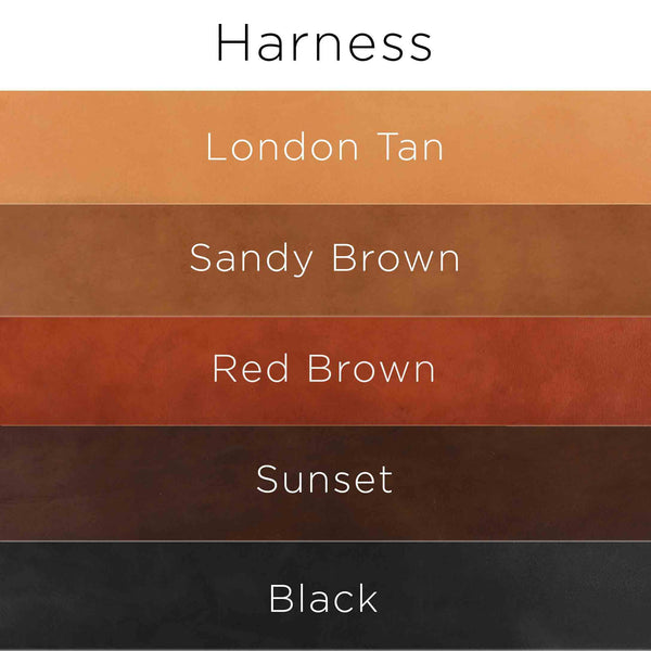 Color options for Harness