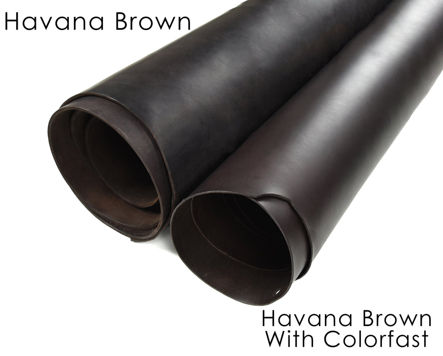 Havana Brown bridle colorfast vs noncolorfast