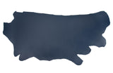 Side of ChahinLeather Navy Holster Strap