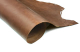 Rolled side of ChahinLeather Penetrated Brown Skirting