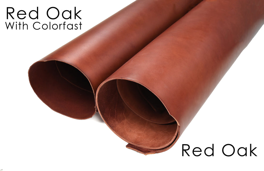 Red Oak bridle colorfast vs noncolorfast