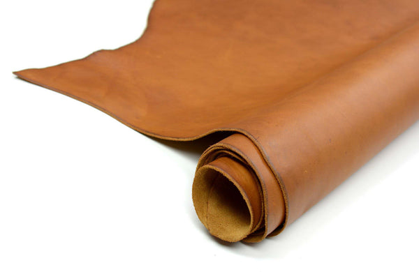 Side of ChahinLeather Light Umber Leather