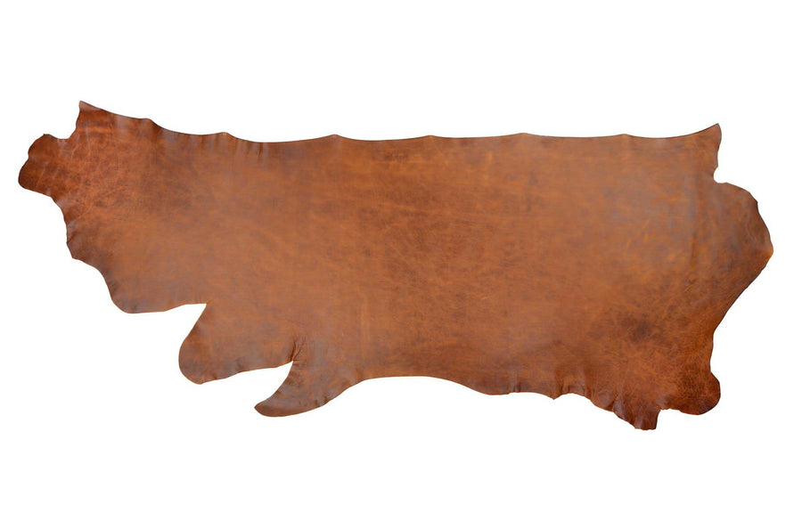 Side of ChahinLeather Medium Umber Leather
