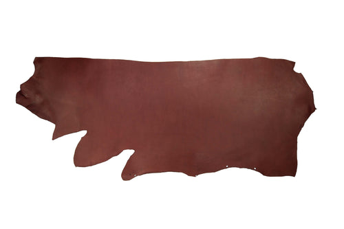 Side of ChahinLeather Burgundy Holster Strap