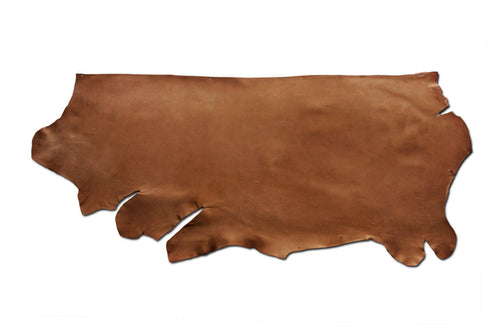 Full side of special ChahinLeather Terra Brown Skirting