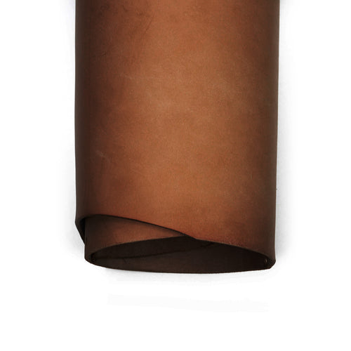 Top roll of special ChahinLeather Terra Brown Skirting